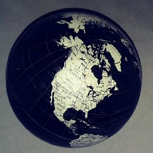 World Globe with Details